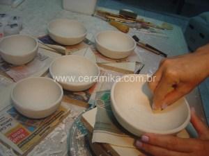 massa artesanal de porcelana