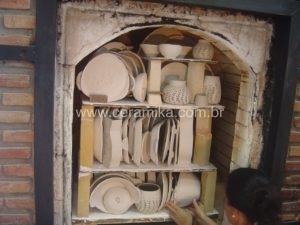 forno ceramico à gás