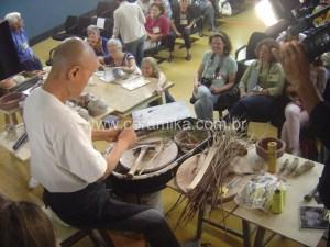 a ceramica do grande Mestre Jackson Li