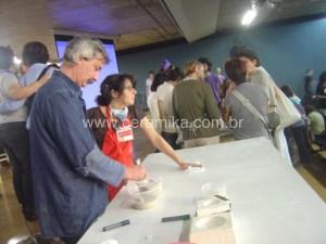 ceramista Philippe Barde em Congresso EIC