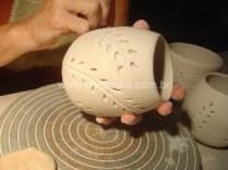 porcelana decorada