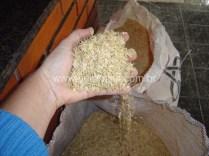 cascas de arroz para fazer esmaltes