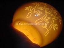 bowl oval em porcelana translucida