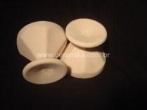 biscoitos em porcelana