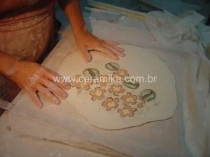 tecnica inlay em porcelana