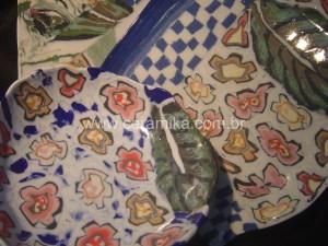 porcelana colorida tecnica nerikomi