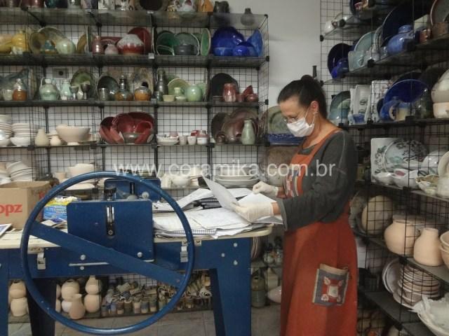 Beth Coe Maeda ceramista de São Paulo