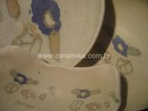 porcelana com decoração nerikomi