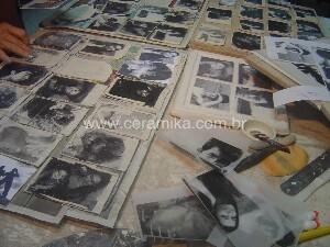imagens em superficie ceramica