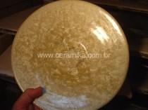 cristais em ceramica esmaltada