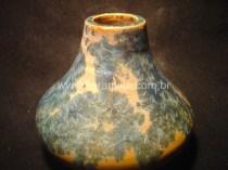 pote em ceramica com cristais