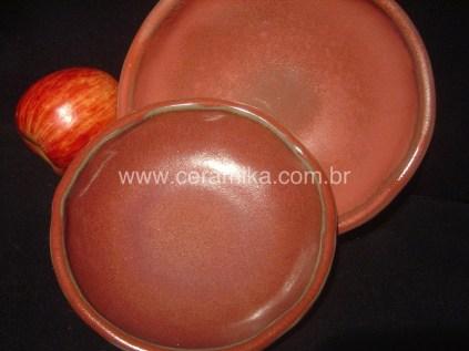 esmalte ceramico vermelho