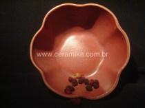 vidrado ceramico vermelho em redução