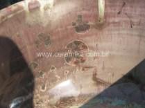 cristais em vidrado cristalino