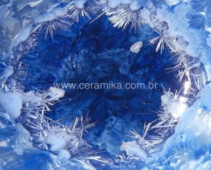 cristais no vidro ceramico