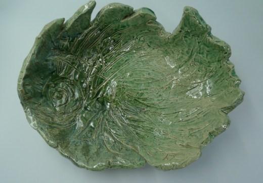 Plat poisson - ceramique-bouquillon