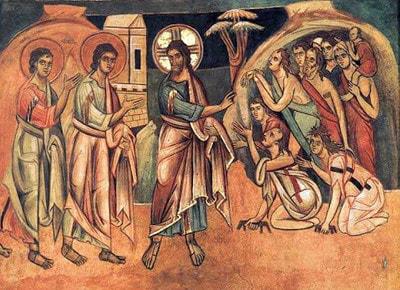 Gesù invia in missione gli apostoli