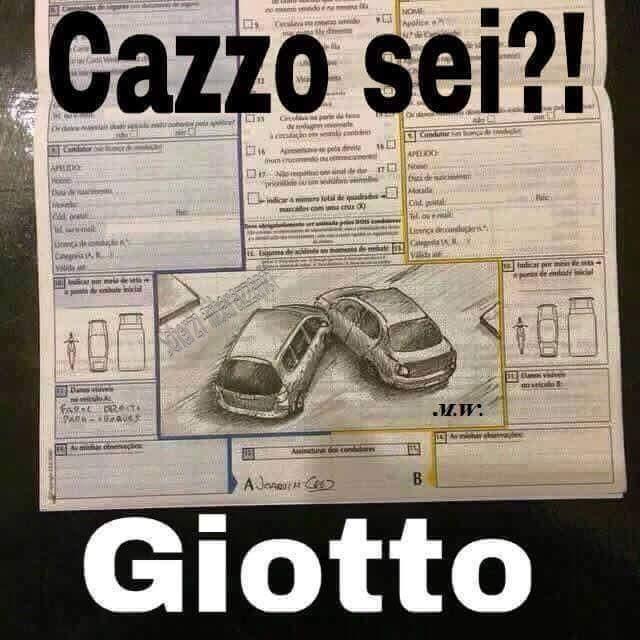 Cazzo sei? Giotto