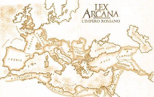 Mappa di Lex Arcana