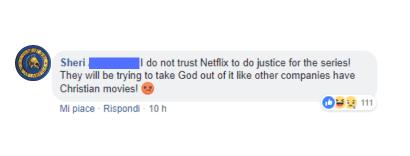 A volte dai film tagliano Winky, altre volte tagliano Dio. Capita.