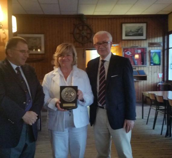 Marie-Thérèse Jourdas récompensée par le YCF