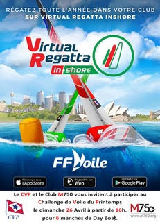 Virtual Regatta – 26 avril à 16.00