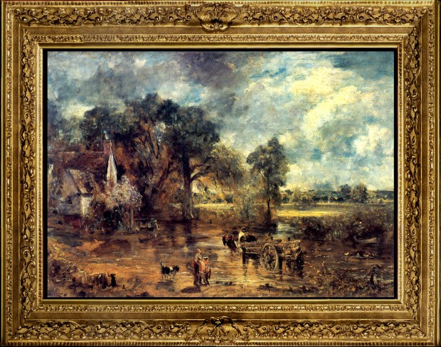 John Constable Etude pour la charette de foin 1821 The Victoria and Albert Museum - Londres