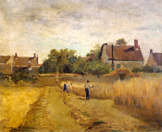 Georges Gassies : Maison de Th. Rousseau à Barbizon.