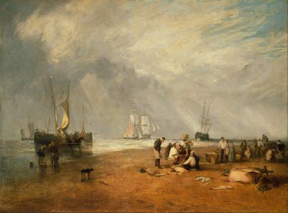 Joseph_Mallord_William_Turner_-_The_Fish_Market_at_Hastings_Beach_-_Google_Art_Project
