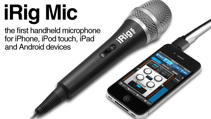 Hands On: iRig Mic and Recorder by IK Multimedia - Cerebral