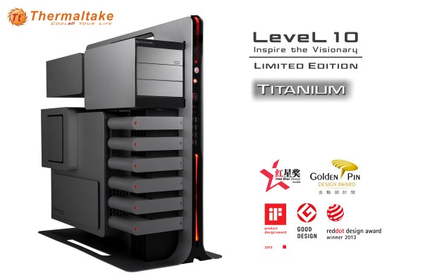 Thermaltake Level 10 Titanium Limited Edition world premier at COMPUTEX 2014