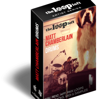 The Loop Loft Releases Matt Chamberlain Drums - Cerebral