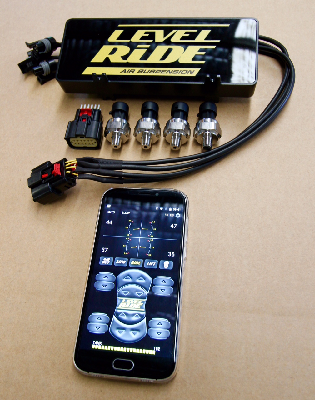 LEVEL RIDE AIR SUSPENSION RELEASES UPGRADED WIRELESS CONTROLLER