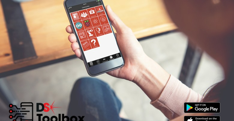 New DesignSpark Toolbox app from RS Components available on