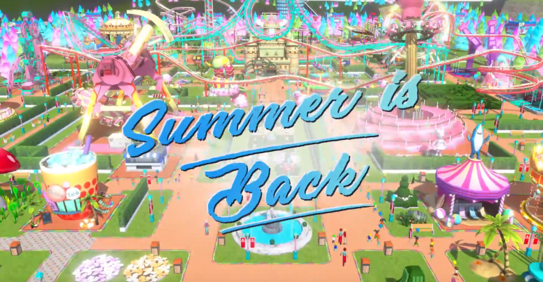 Atari Releases New Summer Update to Top Theme Park Builder