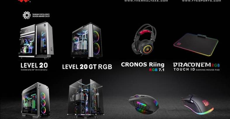 Thermaltake and Thermaltake Gaming Tt eSPORTS honored with