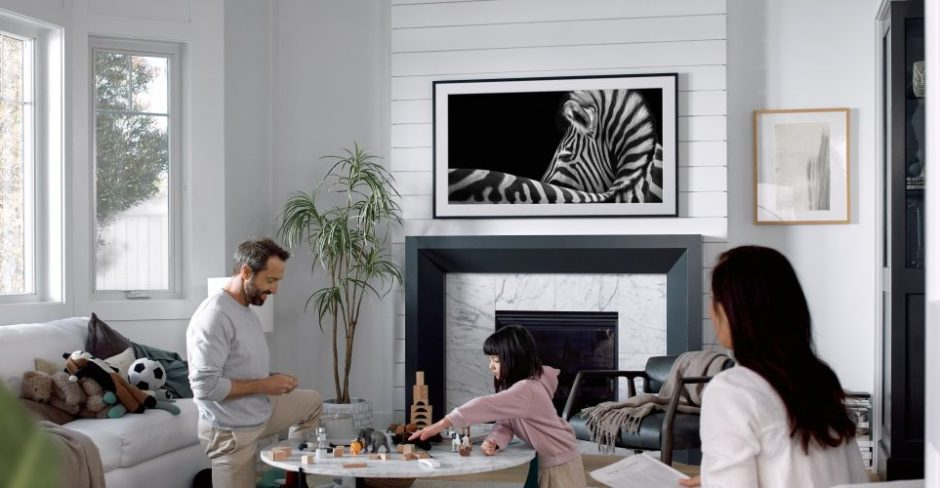 TV When It's On, Art When It's Off: Samsung Brings QLED Technology