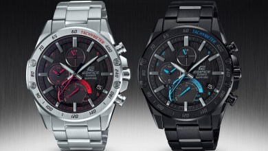 Photo of Casio Bolsters EDIFICE Collection With Two New Super Slim Connected Timepieces