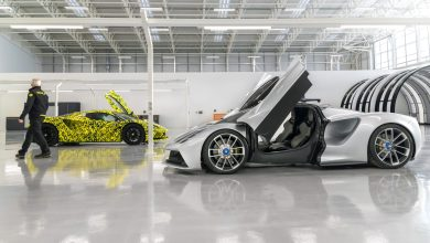Photo of LOTUS EVIJA PRODUCTION COMES ALIVE