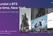 Photo of Hyundai NEXO and BTS Light Up Broadway with Global Hydrogen Campaign Film