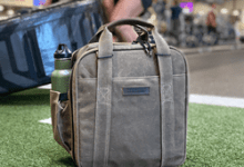 Photo of WaterField Unveils Bootcamp Gym Bag — A Sleek Fitness Bag Sized to Fit in a Gym Locker
