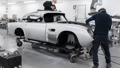 Photo of ASTON MARTIN DB5 PRODUCTION RESUMES AFTER 55 YEARS AS BUILD WORK BEGINS ON DB5 GOLDFINGER CONTINUATION CARS