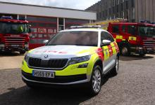 Photo of FIRST TO RESPOND: ŠKODA KODIAQ JOINS WEST SUSSEX FIRE AND RESCUE SERVICE FLEET