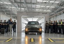 Photo of ASTON MARTIN CELEBRATES MILESTONE MOMENT AS FIRST DBX DRIVES OFF THE PRODUCTION LINE