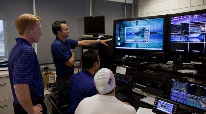 BMW supporting 2016 US Olympic Swim Team with Technology Upgrade