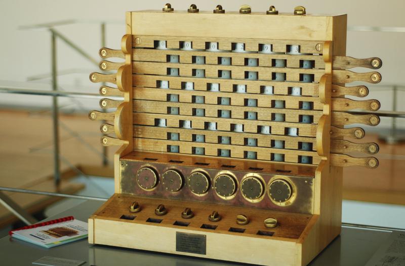 La primer calculadora