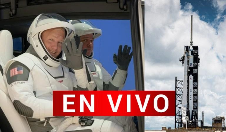 EN VIVO: Se reanuda el primer lanzamiento tripulado de la NASA y SpaceX