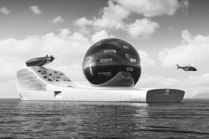 Un navío que utilizará energía nuclear, zarpará en el 2025.