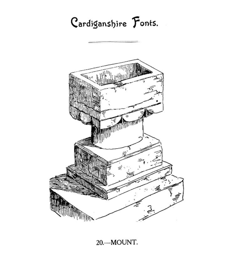 Cardiganshire Fonts - Mount