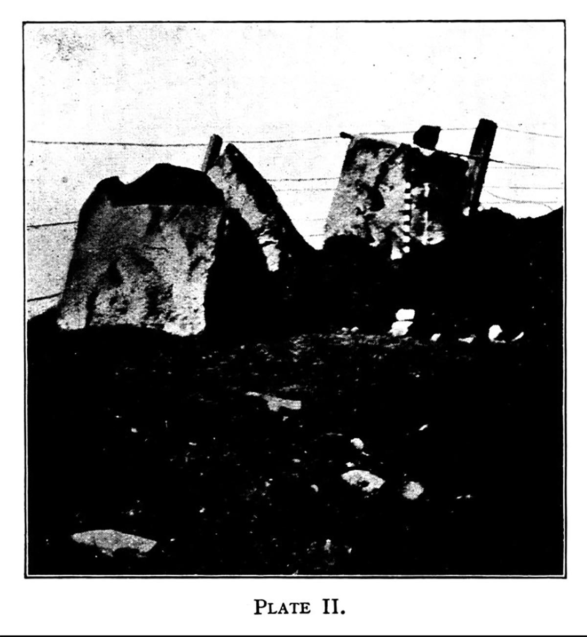 Olion cromlech neu gist - Fferm Moelcerni, Cyfoeth-y-Brenin, Sir Aberteifi